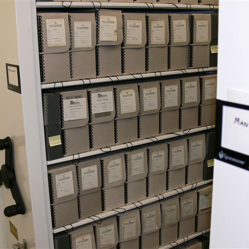 Charmant Manuscript Storage On Mechanical Assist Mobile At The Galt Museum