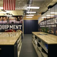 """High Density Mobile 36"""" high units for athletic equipment"""