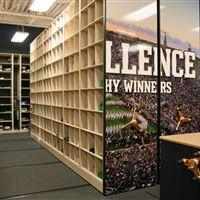 Athletic Equipment Storage for Notre Dame