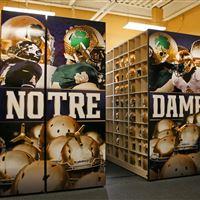 Notre Dame Helmet Storage System
