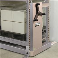 Stainless Steel ActivRAC 7M in Industrial Warehouse